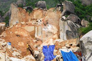 Khai thác đá trên núi Hòn Chà, TP Quy Nhơn: Kiên quyết thu hồi chủ trương, 'mạnh tay' xử lý vi phạm