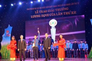 86 gương thanh niên nhận Giải thưởng Lương Định Của lần thứ XII