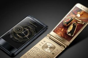 Samsung ra mắt smartphone nắp gập cấu hình cao