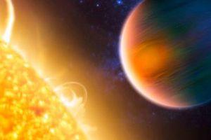 Hành tinh lạ quay quanh sao khổng lồ cực kỳ quặc