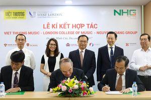 Tập đoàn Nguyễn Hoàng triển khai chương trình đào tạo âm nhạc theo chuẩn quốc tế