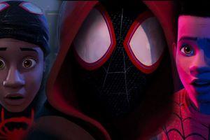 Teaser đầu tiên của phim hoạt hình Spider-man đã hé lộ người Nhện đen
