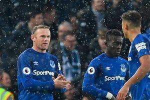 Rooney ghi bàn, Everton buộc Liverpool chia điểm trong trận derby