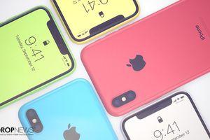 Ấn tượng với ảnh dựng iPhone Xc vỏ nhựa, nhiều màu sắc, giá rẻ hơn