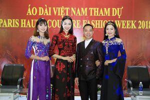 NTK Đỗ Trịnh Hoài Nam mang áo dài tham gia Paris Fashion Week Haute Couture 2018