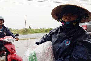 Bão Tembin sầm sập kéo đến, mưa ngày càng lớn ở Bến Tre