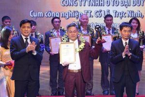 Vinh danh 18 doanh nghiệp, 46 lái xe đoạt giải 'Vô lăng vàng'