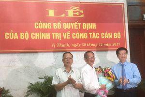 Ông Trần Công Chánh thôi giữ chức Bí thư Tỉnh ủy Hậu Giang