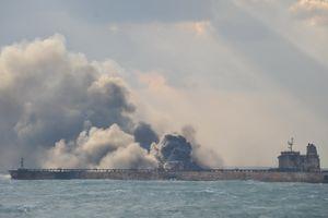 Tàu dầu Iran phát nổ ngoài khơi Trung Quốc