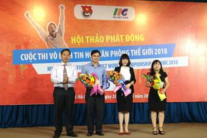 Khởi động cuộc thi Vô địch tin học văn phòng thế giới