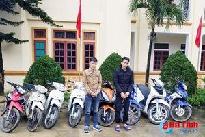 Bắt giữ hai đạo tặc chuyên 'nhảy' xe máy ở Vũ Quang