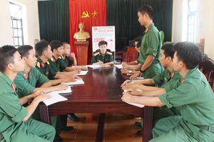 Công tác xây dựng Đảng ở đơn vị thành lập ngày 3-2