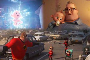 'Gia đình siêu nhân 2' tung trailer dễ thương 'quá cỡ'