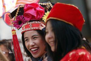 Sự kiện mừng Tết âm lịch lớn nhất thế giới ngoài châu Á