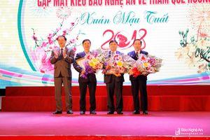 Kiều bào Nghệ An góp phần làm rạng danh quê hương, đất nước