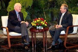 Chủ tịch Cuba tiếp đoàn nghị sĩ Mỹ