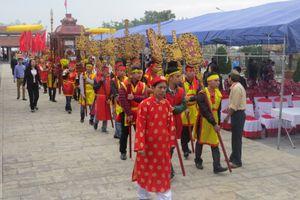 Hải Phòng: Khai bút đầu Xuân tại Khu tưởng niệm Vương triều Mạc
