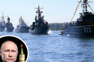 20 tàu chiến Nga ùn ùn tới biển Baltic 'dằn mặt' NATO