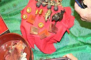 Ngắm voi bằng vàng ròng, đồng đen và hoàng bào của Vua Hàm Nghi