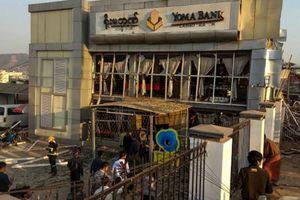Myanmar: Nổ bom ở ngân hàng, 24 người thương vong