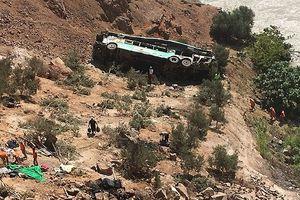 Vụ tai nạn xe bus thảm khốc ở Peru: Số người thiệt mạng tăng lên 44