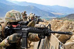 Cận cảnh binh sĩ Mỹ tuần tra, đảm bảo an ninh ở Afghanistan