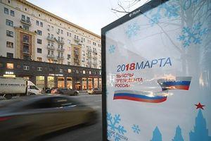 Bầu cử tổng thống Nga: Đa số cử tri ủng hộ Tổng thống V.Putin