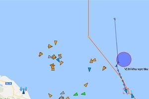 Tàu Biển Đông Freighter cứu sống 8 thuyền viên gặp nạn trên biển