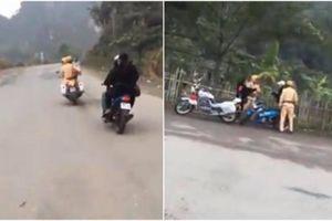 Ninh Bình: Nhóm thanh niên náo loạn, thách thức lực lượng CSGT