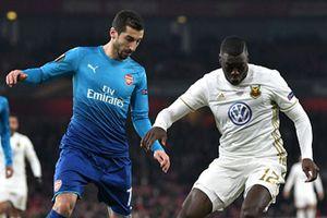 Arsenal đoạt vé đi tiếp ở cúp châu Âu dù thua trên sân Emirates