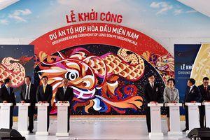 Thủ tướng nhấn nút khởi công tổ hợp hóa dầu 5,4 tỷ USD