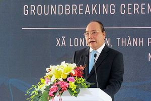 Thủ tướng Nguyễn Xuân Phúc phát lệnh khởi công Dự án Tổ hợp hóa dầu miền Nam