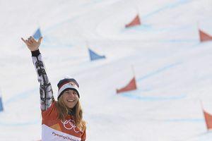 Olympic mùa đông 2018: Thán phục nữ hoàng trượt tuyết Ledecka