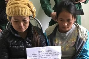 Bắt hai 'nữ quái' vận chuyển thuê hàng nghìn viên ma túy tổng hợp