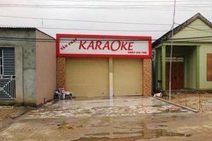 Nghệ An: Giết chủ quán karaoke vì hết phòng hát