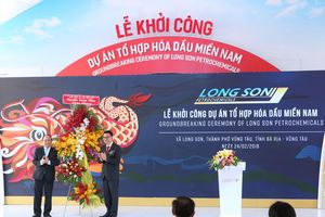 Khởi công dự án lọc dầu 5,4 tỉ USD tại Vũng Tàu