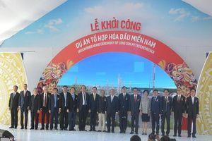 Khởi công dự án lọc hóa gần 4 tỉ USD ở Vũng Tàu