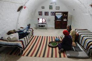 Cận cảnh cuộc sống trong những ngôi nhà dưới lòng đất ở Tunisia