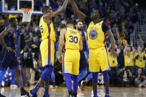 NBA 2017-18, Thunder 80-112 Warriors: 'Đừng hòng có lần 3', Kevin Durant