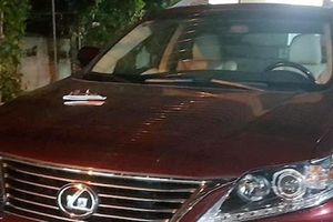 Công an điều tra, làm rõ dấu hiệu trộm ô tô Lexus tại khách sạn