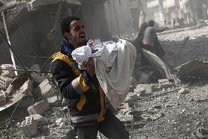 Mỹ tố Nga làm ngơ trước thảm họa nhân đạo ở Đông Ghouta