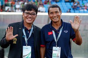 Đôi 'thần tài' của bóng đá Việt Nam Dương Vũ Lâm- Mai Đức Chung