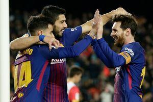 Barcelona 6-1 Girona: MCS bùng nổ, Barca vững ngôi đầu bảng