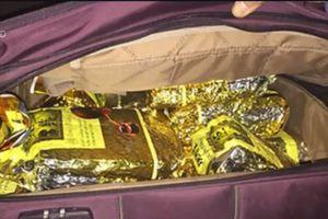 Ôm 288 bánh heroin rồ ga tông công an rồi bỏ chạy