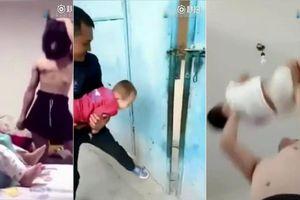 Hoảng hồn clip các bố trông con khi mẹ vắng nhà