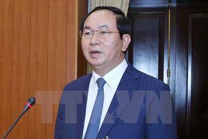 Chủ tịch nước Trần Đại Quang và phu nhân sẽ thăm cấp Nhà nước Ấn Độ, Bangladesh