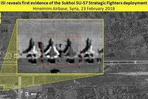 Từ động thái bất thường đến việc lộ hình ảnh và vị trí Su-57 của Nga tại Syria