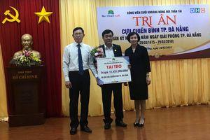 Tài trợ 11,5 tỉ đồng tri ân cựu chiến binh trên địa bàn Đà Nẵng