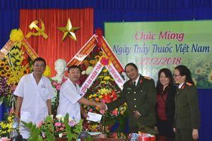 Báo CAND chúc mừng Bệnh viện 199 nhân Ngày Thầy thuốc Việt Nam