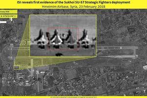 Vệ tinh Israel khẳng định sự Su-57 Nga hiện diện tại Syria